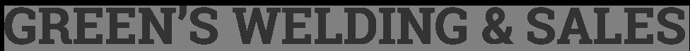 Green's Welding & Sales logo